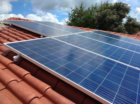 Painel fotovoltaico da Usina AParma-1